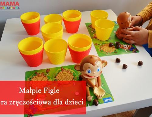 Małpie Figle – gra zręcznościowa dla dzieci