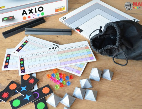 Axio – logiczna gra planszowa