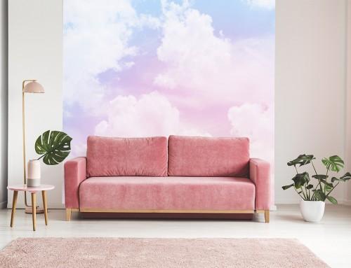 Fototapeta z chmurami – przepis na niebiański wystrój mieszkania