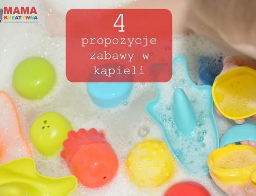 4 propozycje zabaw w kąpieli – bezpieczne zabawki