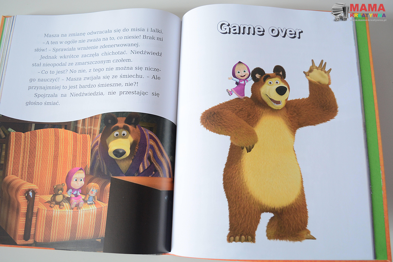 historie o maszy i niedźwiedziu