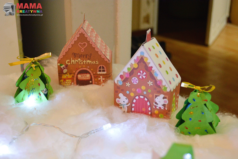 papierowe pudełka świąteczne