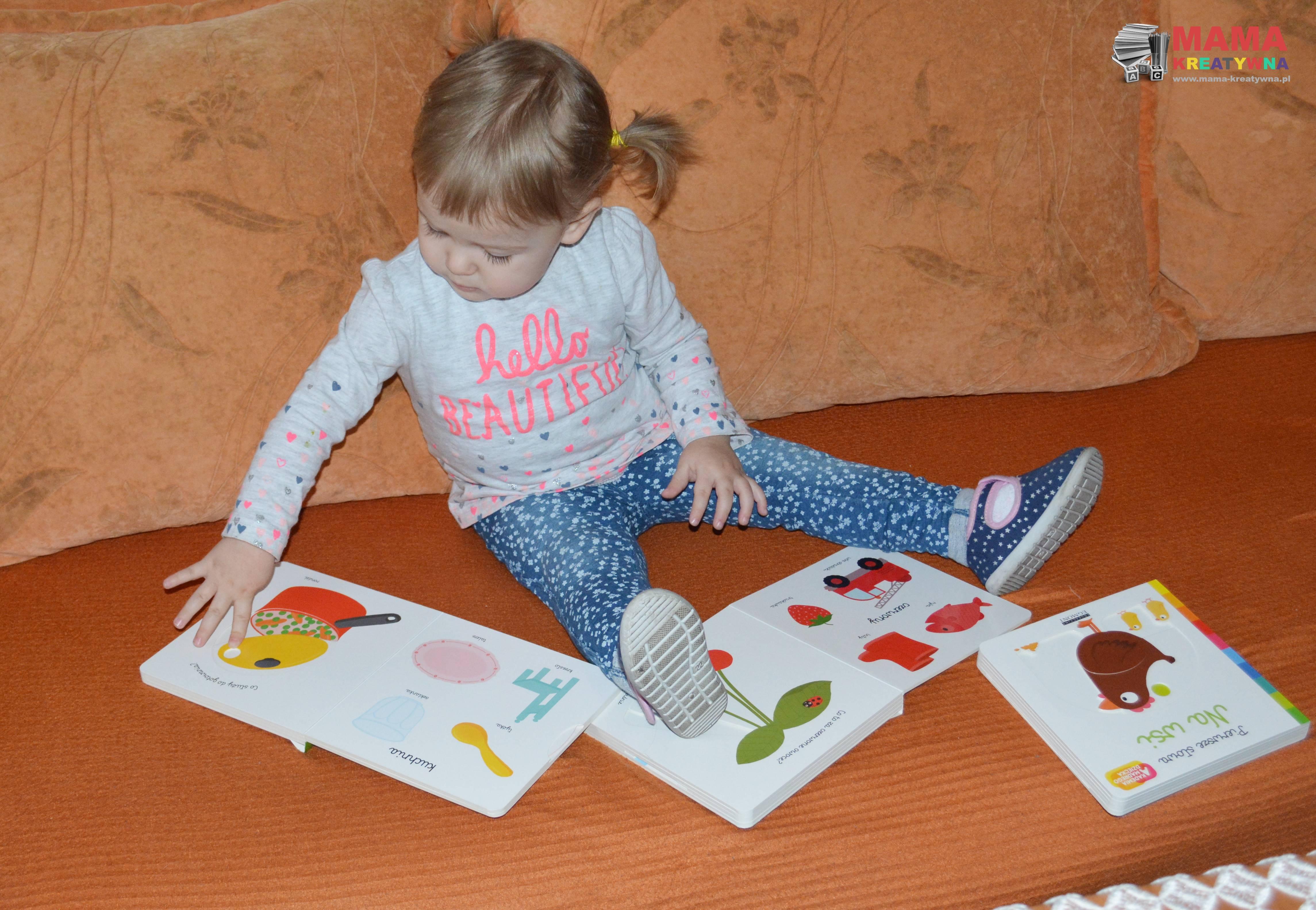 kartonowe książki dla maluchów
