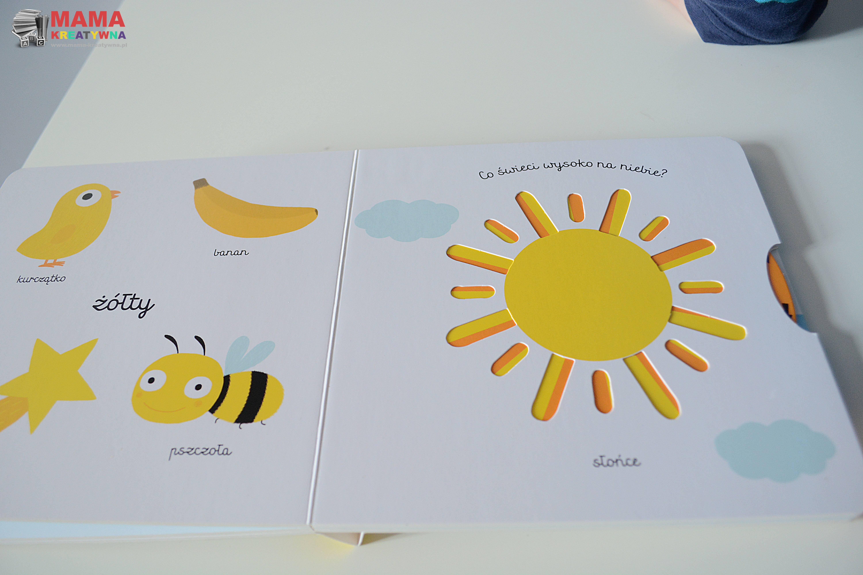 kolory książka kartonowa dla dzieci