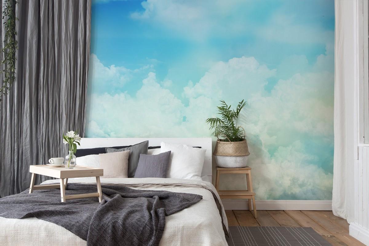 fototapeta z chmurami
