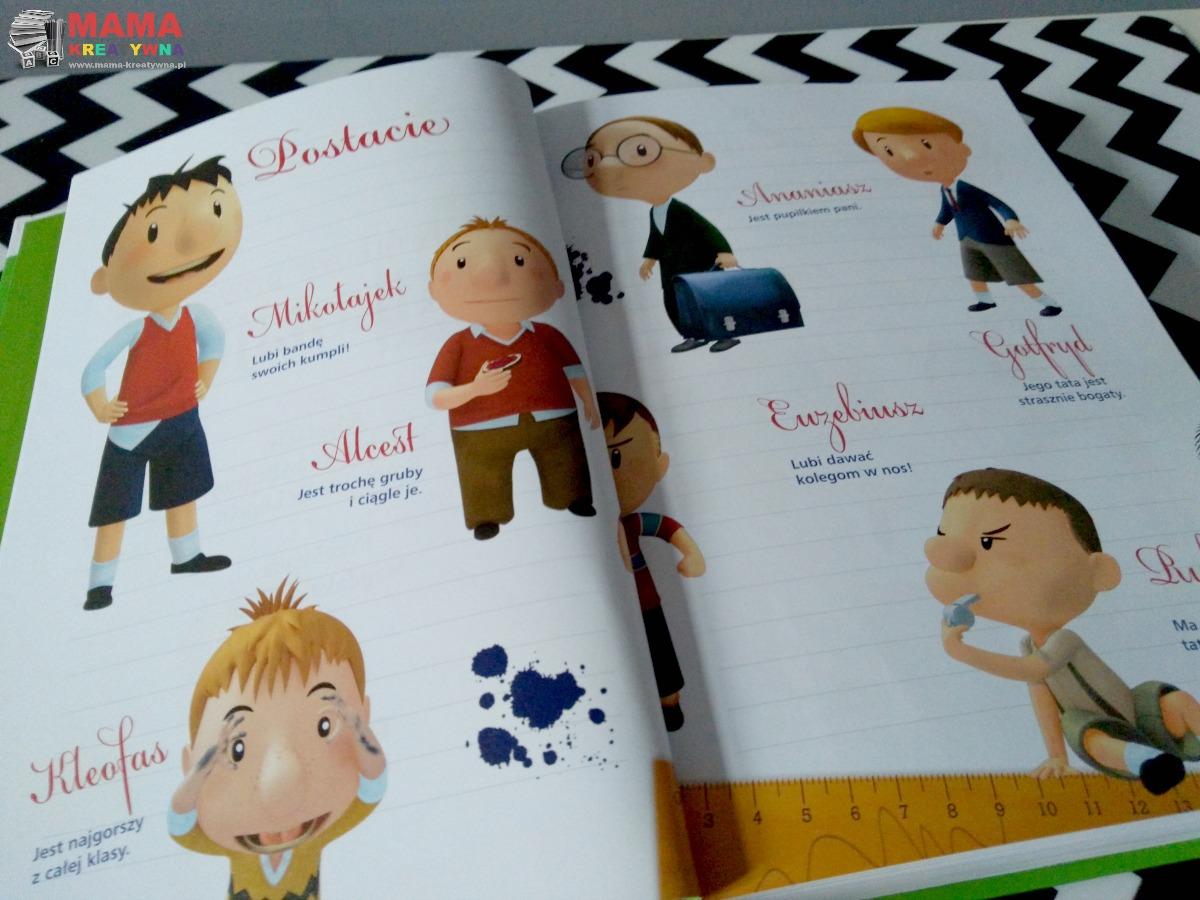 książka przygody Mikołajka