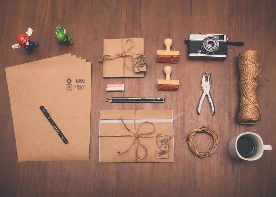 Stemple ozdobne dla kreatywnych